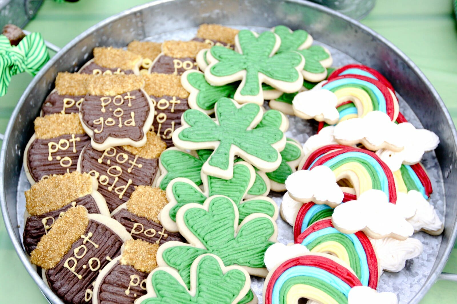 Pot of Gold, St. Patricks Day Cookies