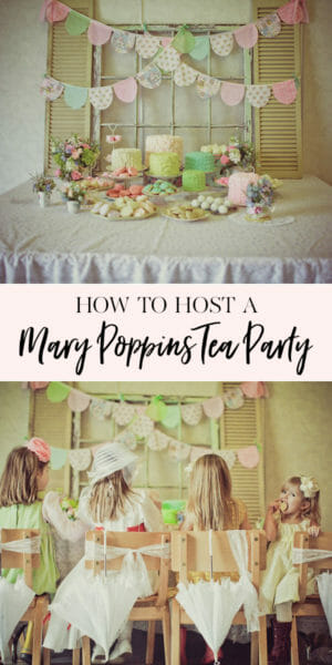Ally S 6th Birthday Mary Poppins Tea Party Jenny Cookies