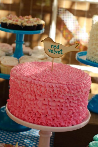 Tiffani Thiessen's daughter Harper turns 2! | second birthday party decor | girl birthday party themes | decorating for a second birthday || JennyCookies.com