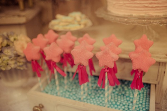 fairy princess wand cake pops