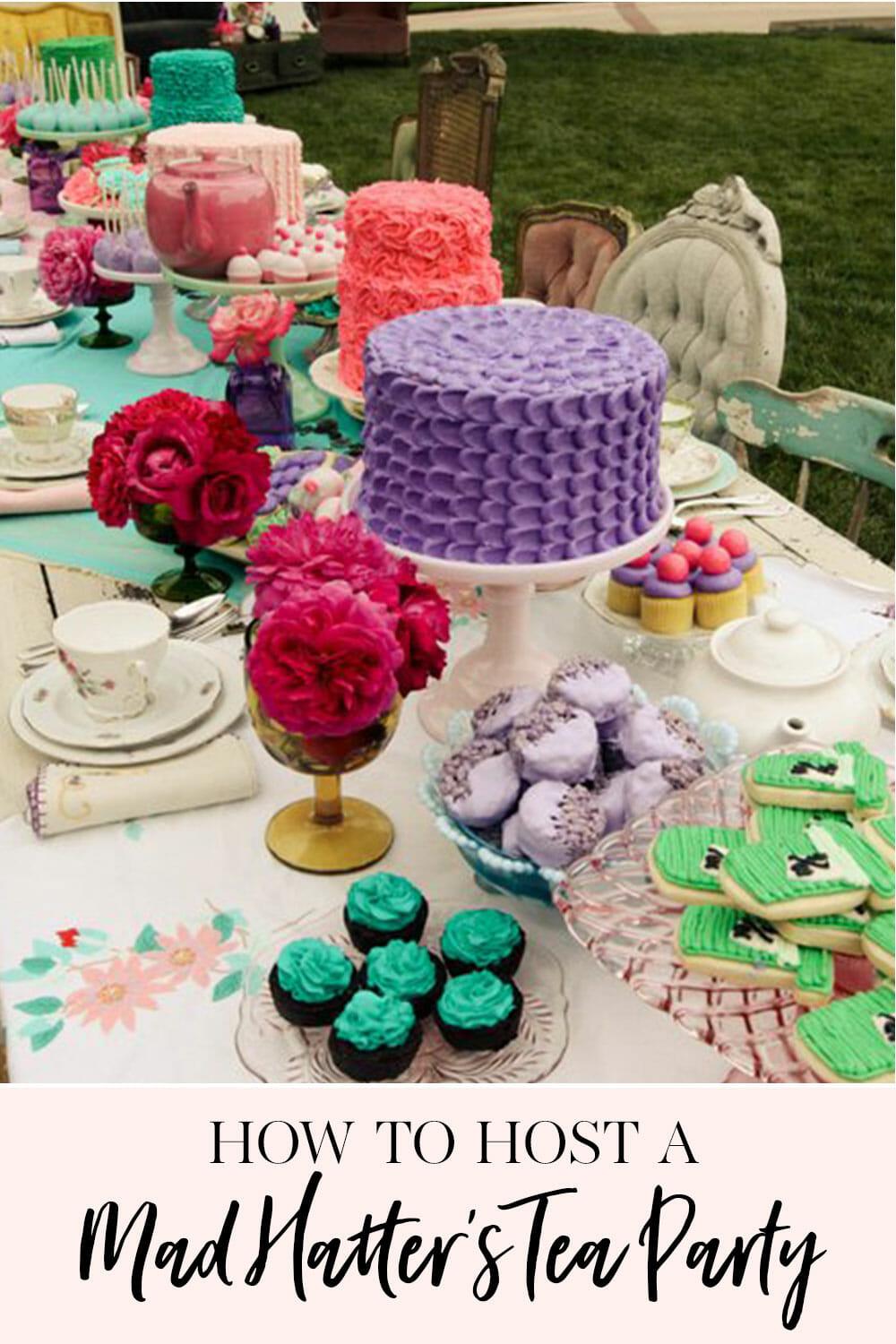 How To Host Mad Hatters Tea Party