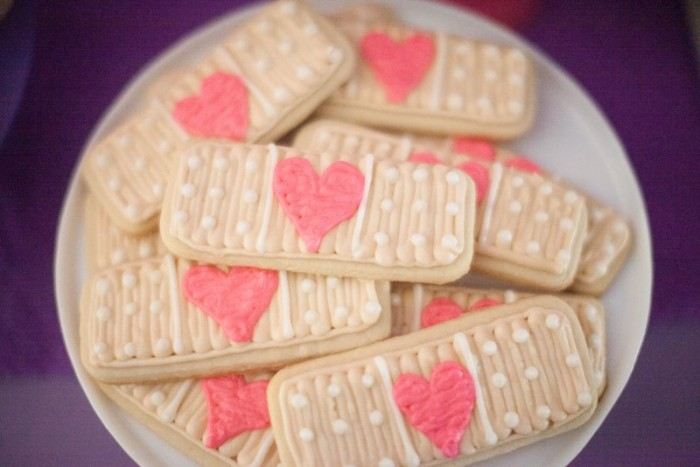 bandaid cookies