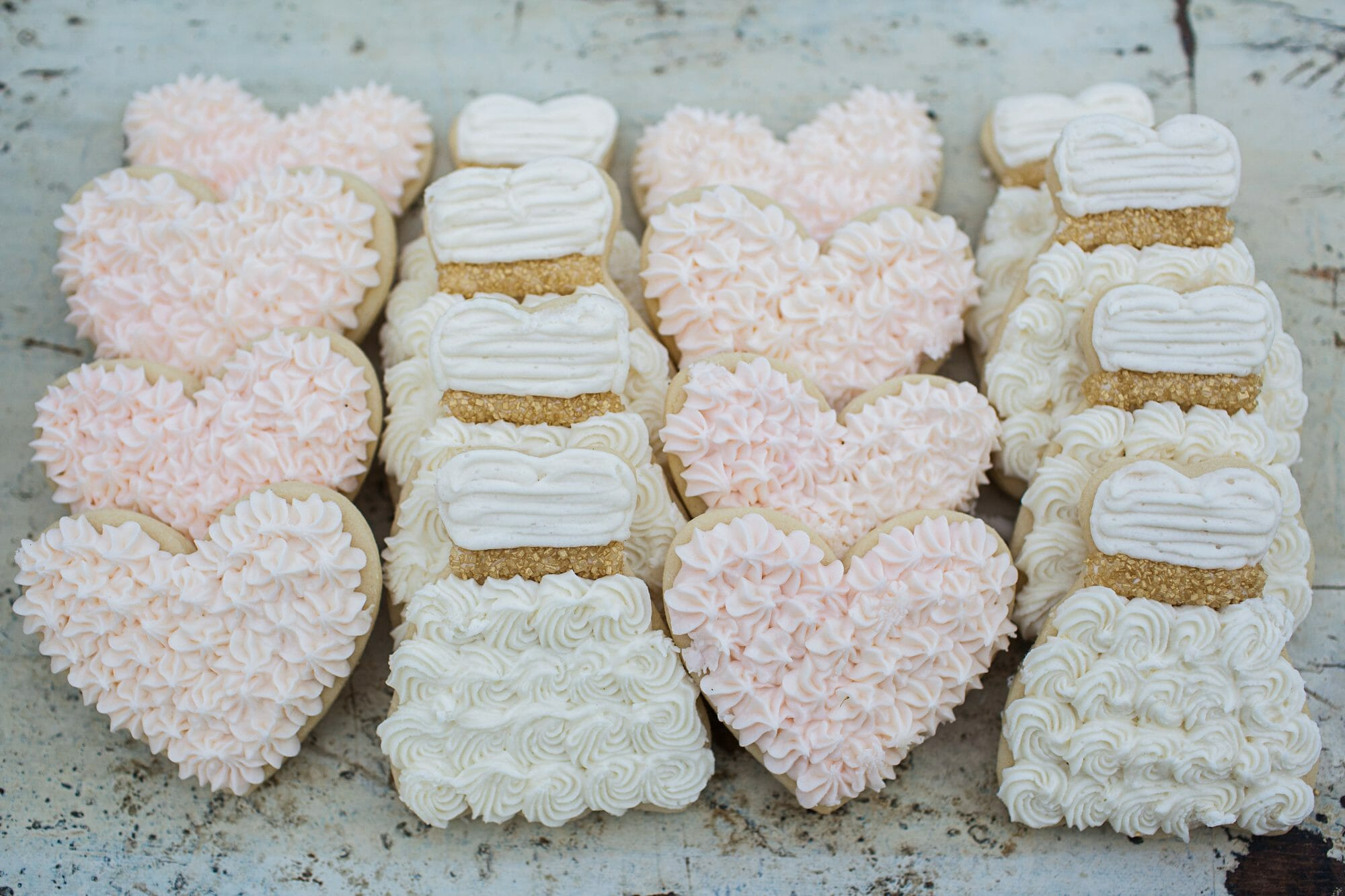 wedding cookies from EAT MORE DESSERT book