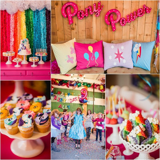 Take a trip to Ponyville and see all the details from Ally's @mylittlepony birthday PLUS enter to win a goodie bag from the party! (it's pretty good..) Link in profile #allysponyparty