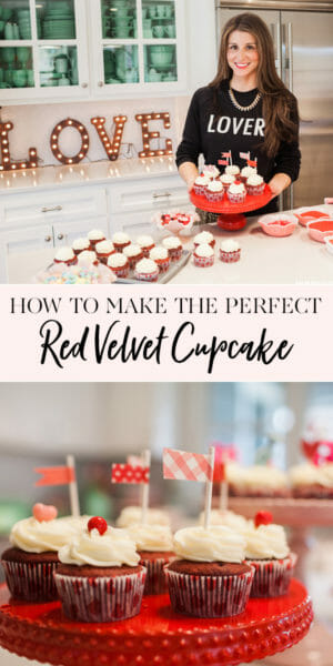 How to Bake the Perfect Red Velvet Cupcake | red velvet cake recipes | the best red velvet cupcakes | easy cupcake recipes | red velvet recipes | homemade red velvet cake || JennyCookies.com #redvelvetcake #redvelvet #easycupcakes #jennycookies