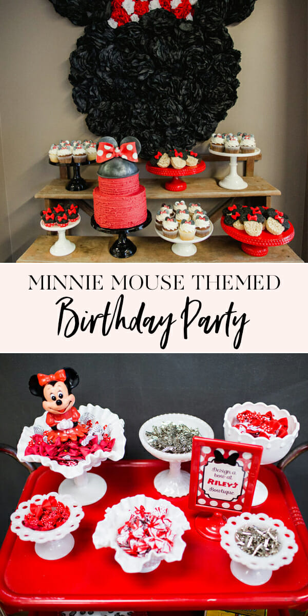 Minnie Mouse Birthday Party Riley Mesnick Turns 2 Jenny