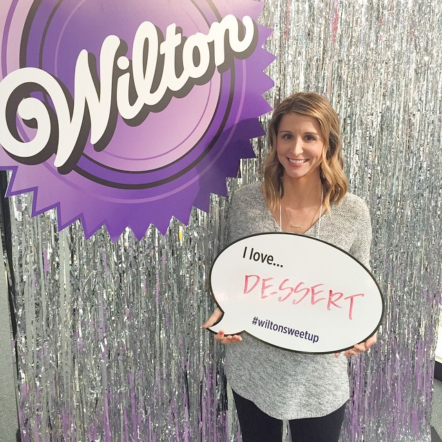 Thrilled to be at @wiltoncakes headquarters here in Chicago! #wiltonsweetup