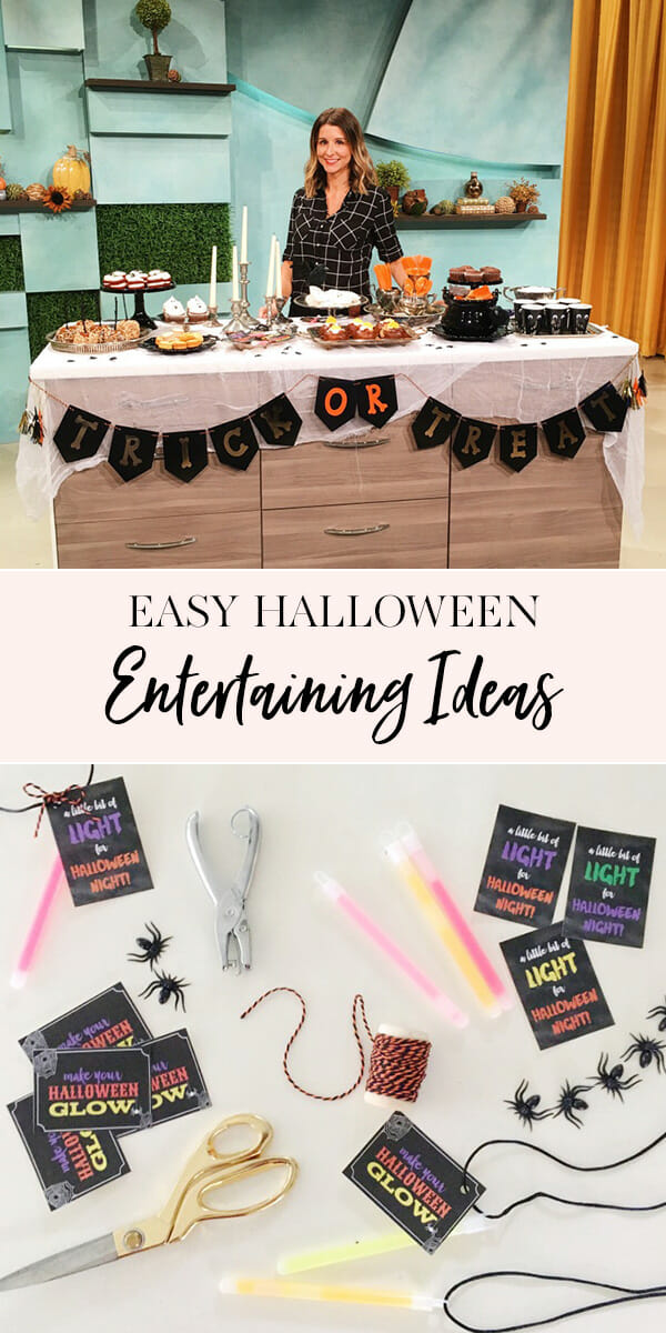 Easy Halloween Entertaining Ideas | halloween party tips and tricks | how to entertain for halloween | halloween entertaining tips | entertaining ideas for halloween | entertaining tips for halloween | halloween tips and tricks || JennyCookies.com #halloweenentertaining