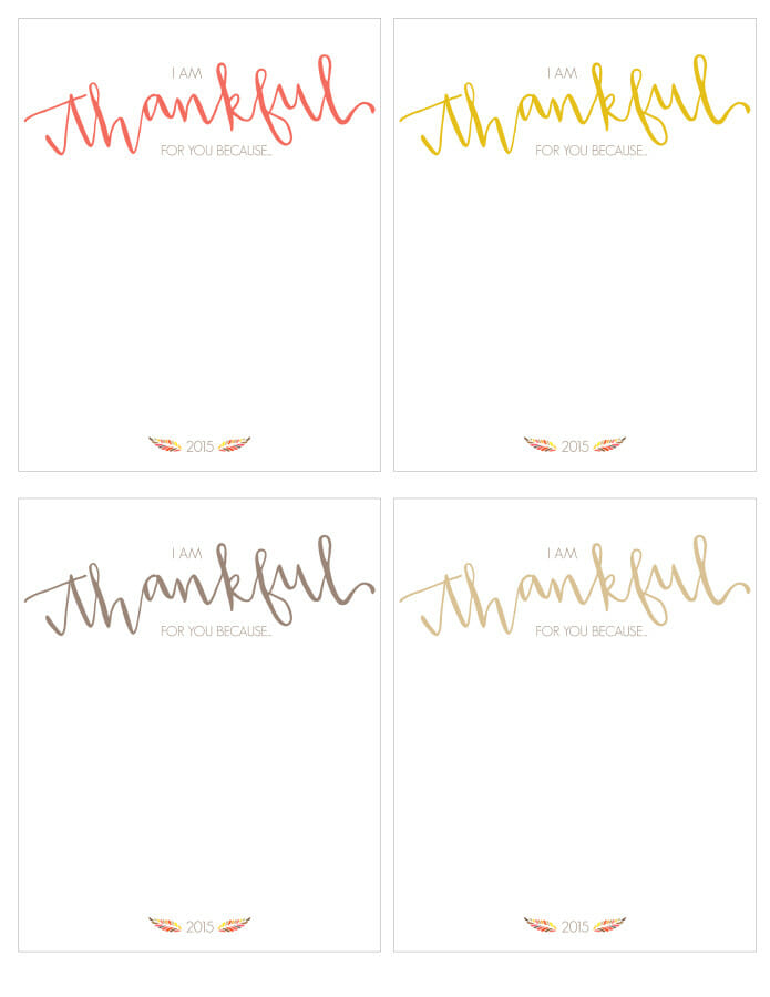 It's just a photo of I Am Thankful for Printable with regard to coloring