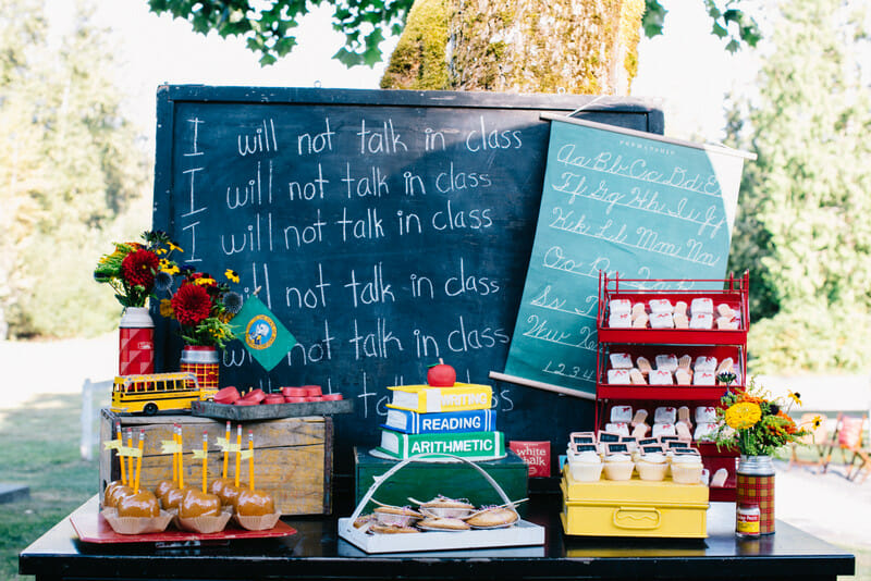 How to Host a Back to School Party | planning a back to school party | back to school party ideas | back to school themed party | hosting a back to school party | ideas for a back to school party | themed party ideas || JennyCookies.com