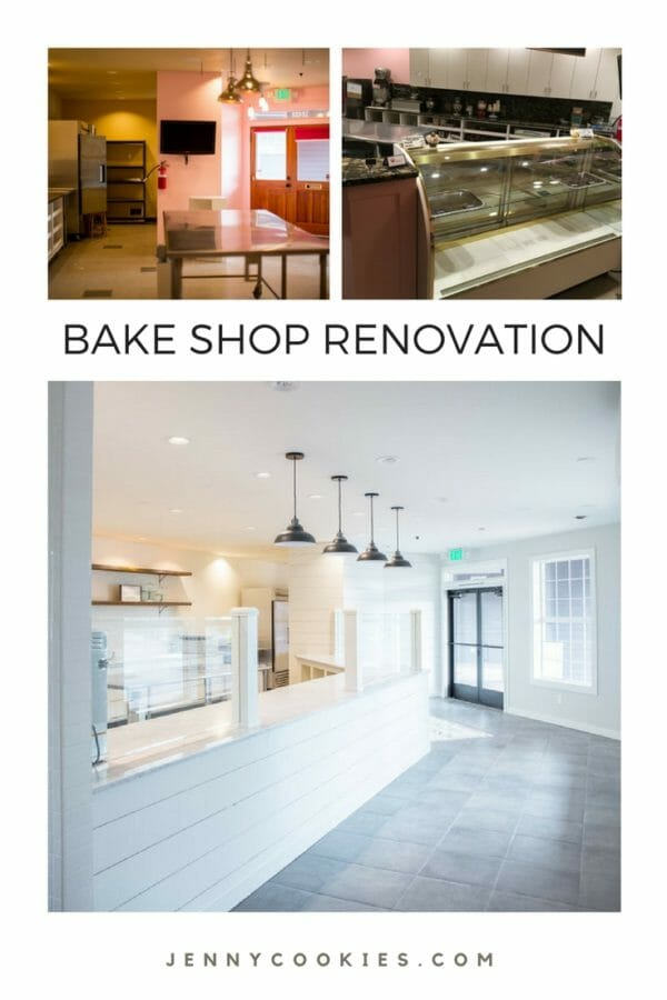 bake shop renovation