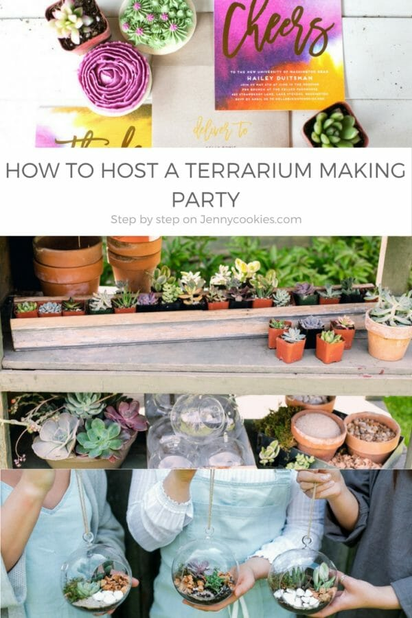 How to host a terrarium making party
