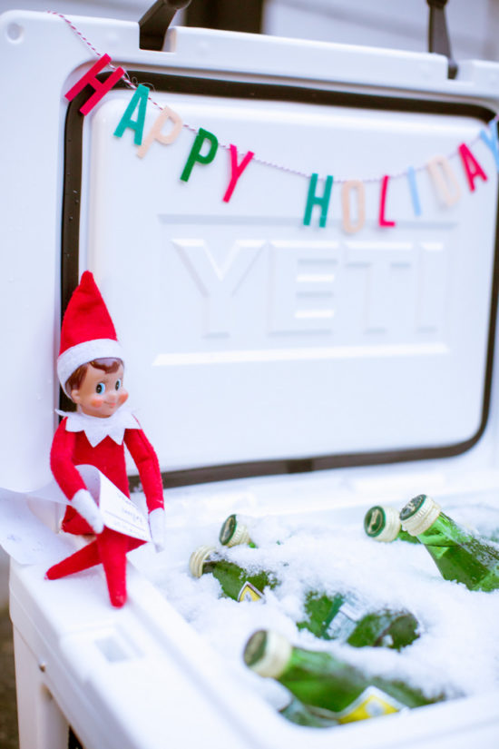 Unique and Easy Elf on the Shelf Ideas | funny elf on the shelf | elf on the shelf for kids | elf on the shelf for adults | easy elf on the shelf ideas || JennyCookies.com #elfontheshelf #elfideas #funholidayideas #jennycookies