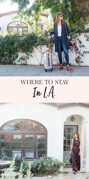 Where to stay in LA | Los Angeles travel tips | LA travel tips || JennyCookies.com #LAtravel #losangeles #traveltips #LAtraveltips