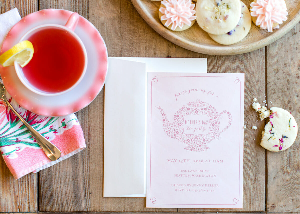 How To Host A Ladies Tea Party Jenny Cookies