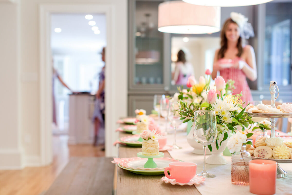 How to Host a Ladies Tea Party – Jenny Cookies 4c24f13be7c3