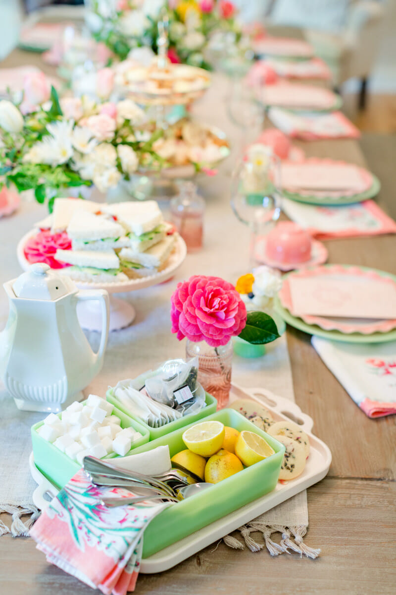 how to host a ladies tea party jenny cookies. Black Bedroom Furniture Sets. Home Design Ideas
