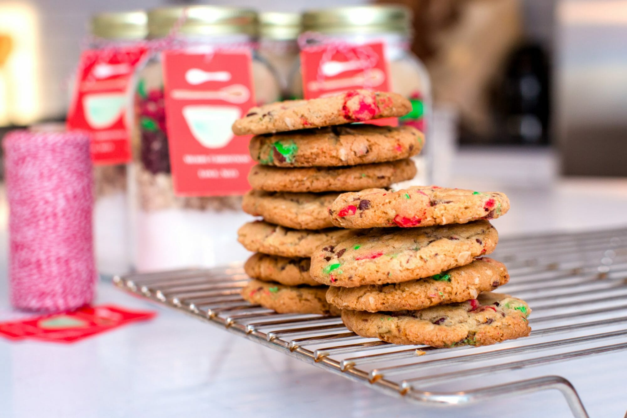 Diy Christmas Cookie Mix In A Jar Jenny Cookies