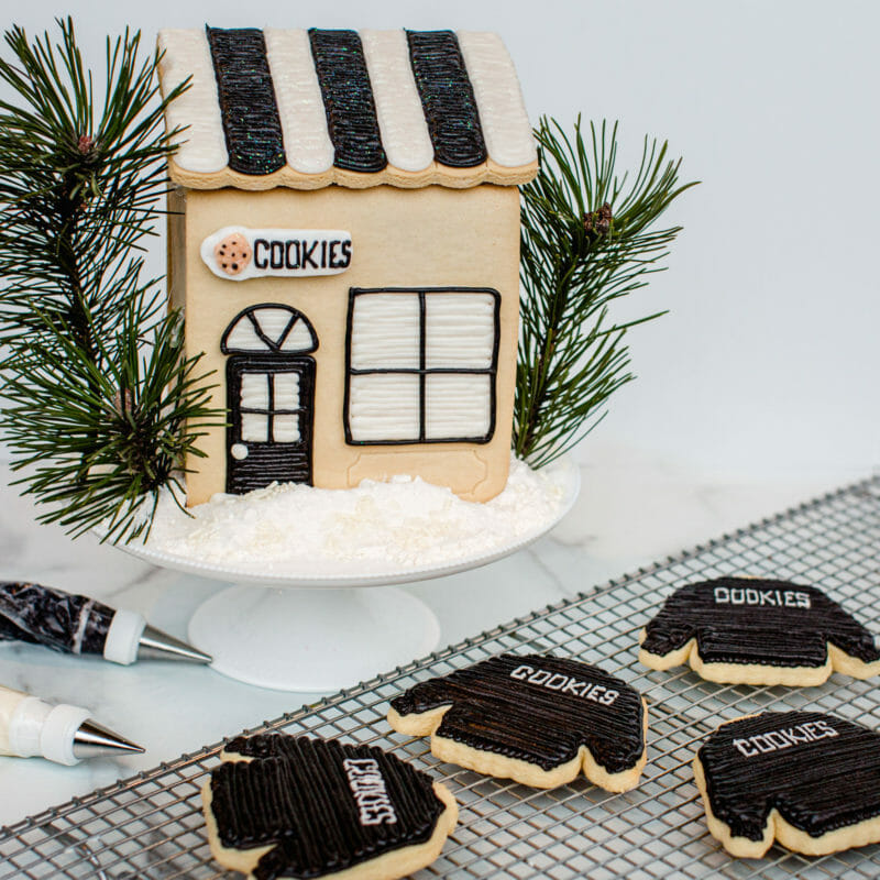 Jenny Cookies Bake Shop Cookie House